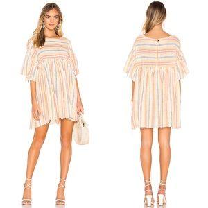 Free People Summer Nights Striped Dress Women's S